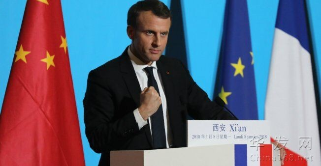 """馬克龍首次訪華先去西安 呼籲歐洲參與""""一帶一路"""""""