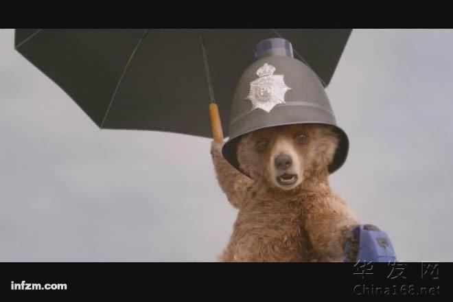 帕丁頓熊:一只得到威廉王子親自加持的熊