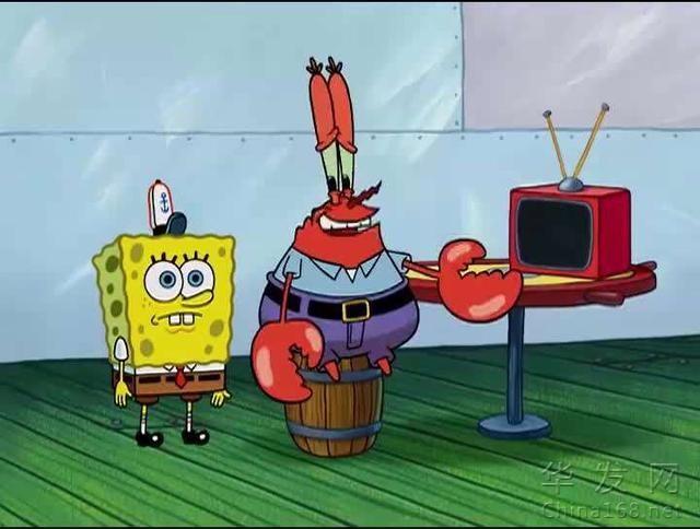 海綿寶寶冷知識:蟹老板原型是什麽螃蟹?紅色是被熟了?